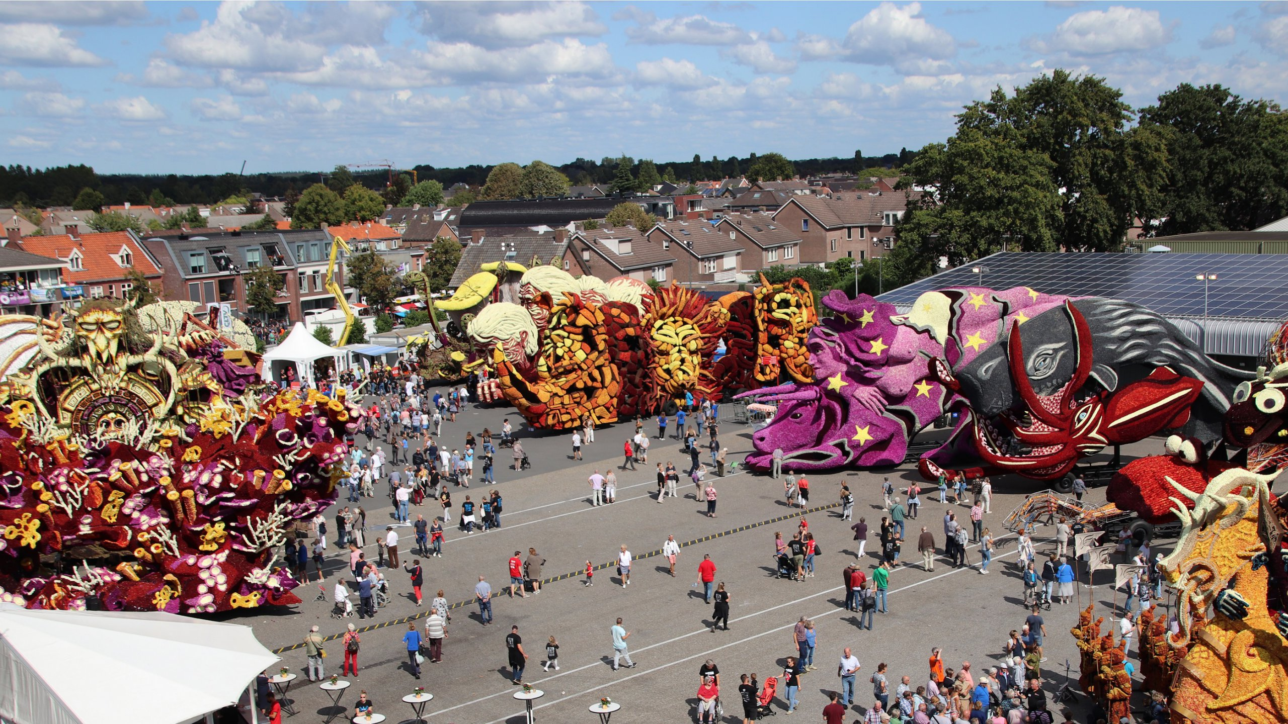 Floats Corso Zundert will be exhibited