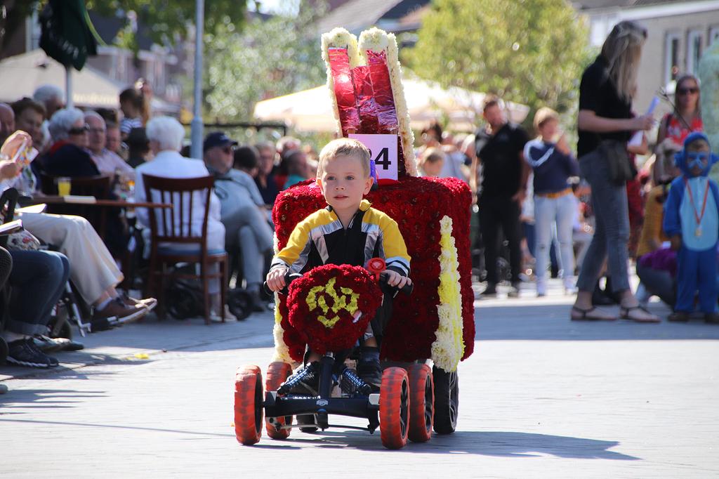 Toch een rijdend Kindercorso!