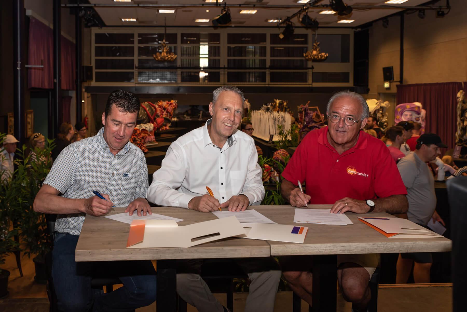 Corso Zundert trots: Rabobank De Zuidelijke Baronie tekent nieuw meerjarencontract