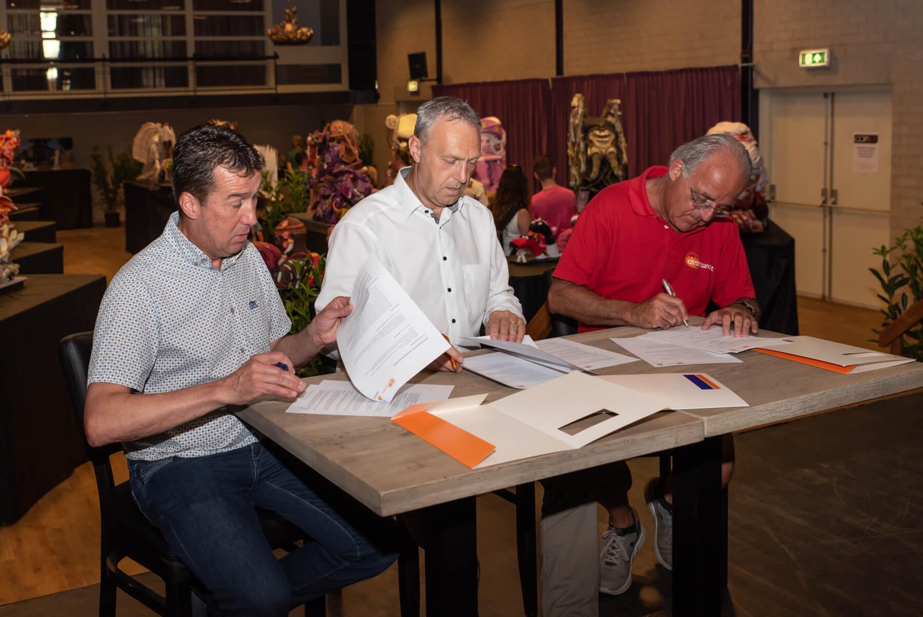 Rabobank De Zuidelijke Baronie en Corso Zundert tekenen nieuw contract