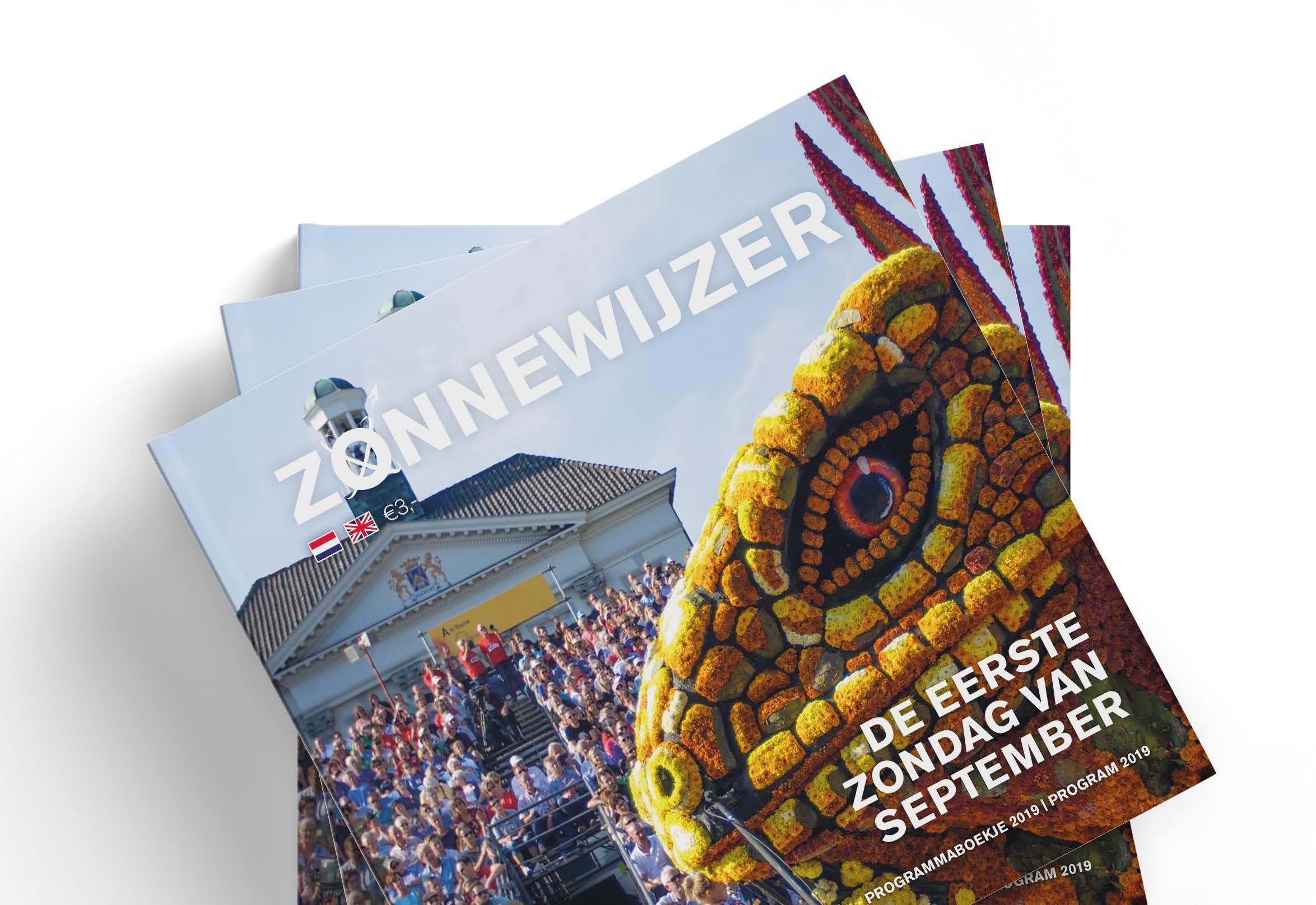 Verkoop programmaboekje Zonnewijzer door scholieren